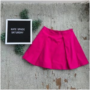 NWT Kate Spade Saturday Deep Pleat Mini Skirt
